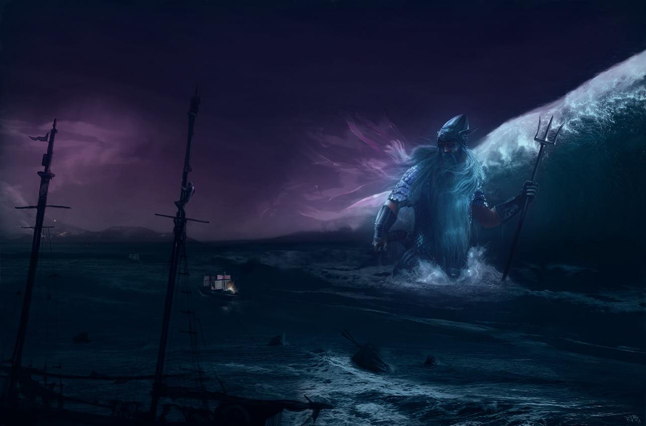 Ulmo la légende du dieu des océans