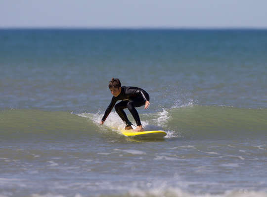 Surfer au Printemps